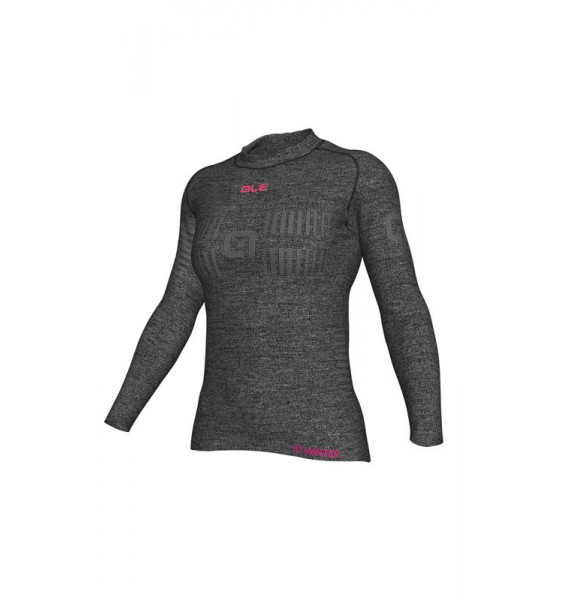 Camiseta Ale Interior Seamless Wool Mujer