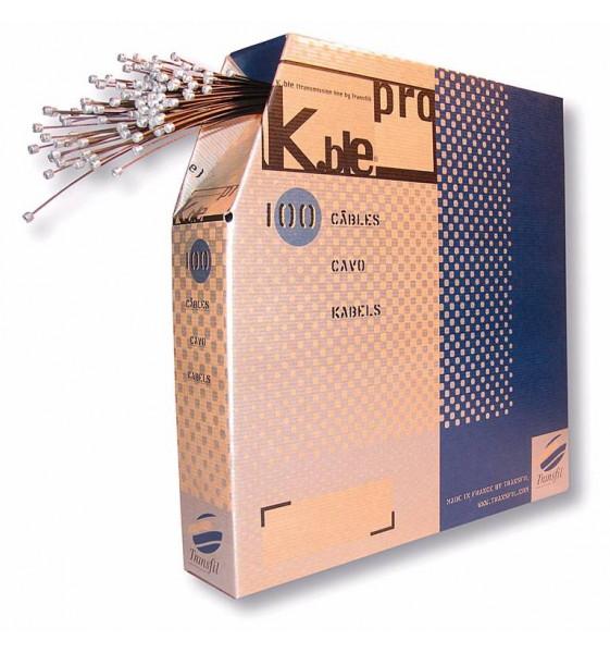 100 Cables Inoxidable Cambio Campagnolo 1.2X1900