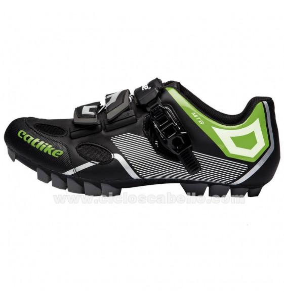 Zapatillas Catlike Sirius MTB Negro Verde