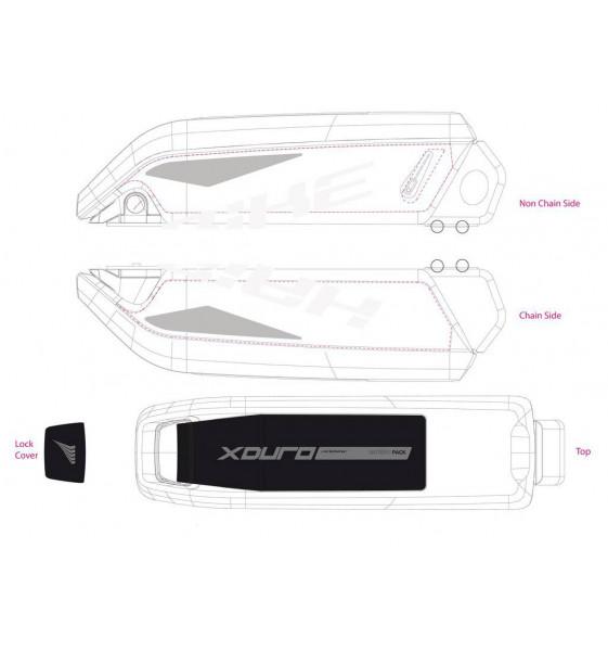 E-Bike Xduro Battery Sticker...