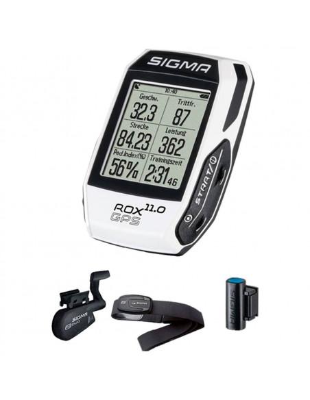 Ciclocomputador Sigma ROX GPS 11.0 SET Completo