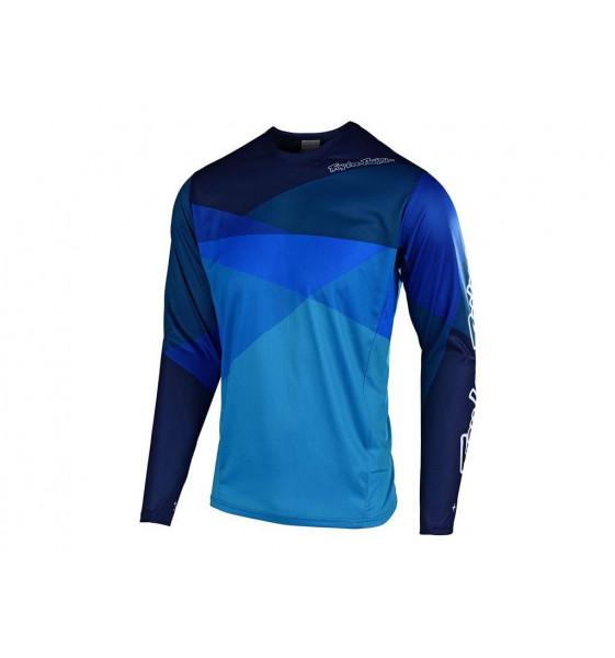 Camiseta Troy Lee Sprint Jersey 2019 Jet Ocean / Blue S