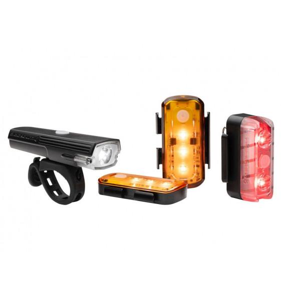 Kit Luces Blackburn Luminate 360 Light Set -Halo-