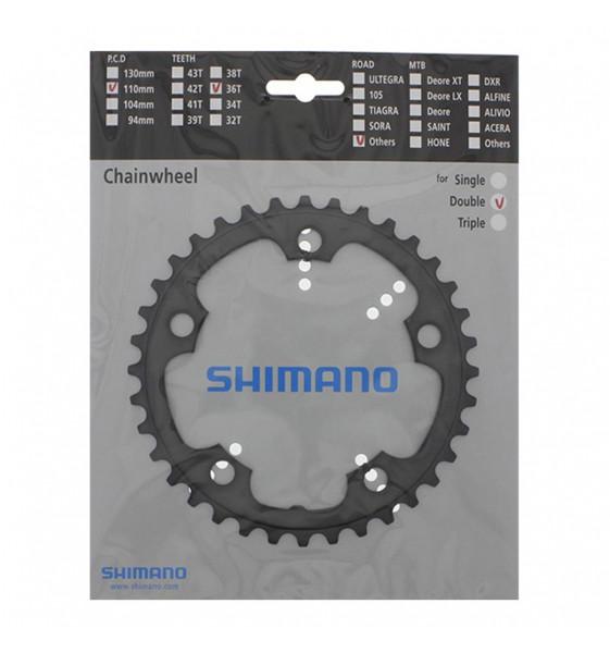 Plato SHIMANO 36D Ciclocross FC-CX70