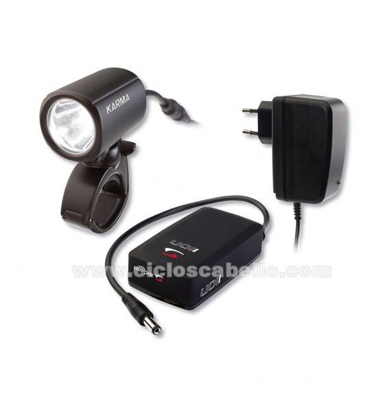 Kit luces SIGMA Karma+IION+Cargador