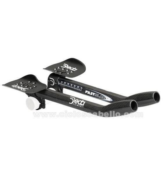 Manillar Aerobar DEDA Fast Black 31,7 mm carbono