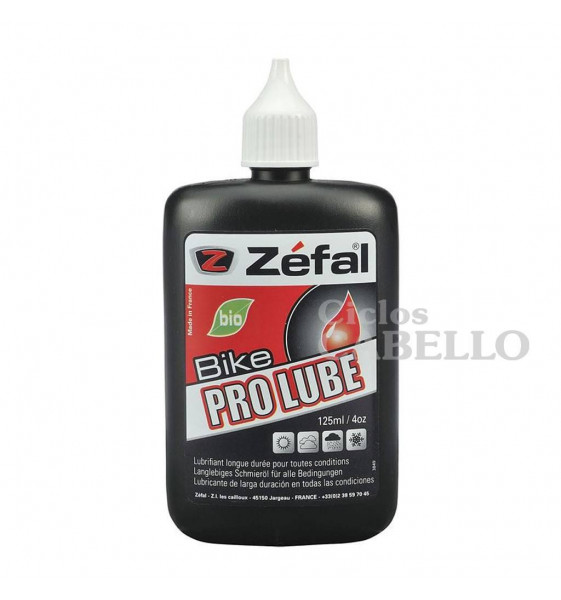 ACEITE ZEFAL PRO BIODEGRABABLE 125 ML