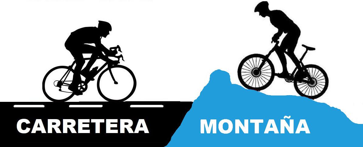 diferencias entre mtb y bicicleta de carretera